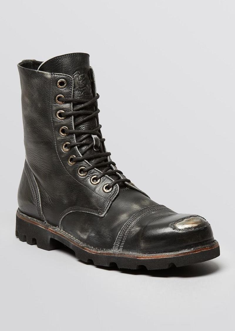 diesel diesel hardkor steel lace up boots shoes shop