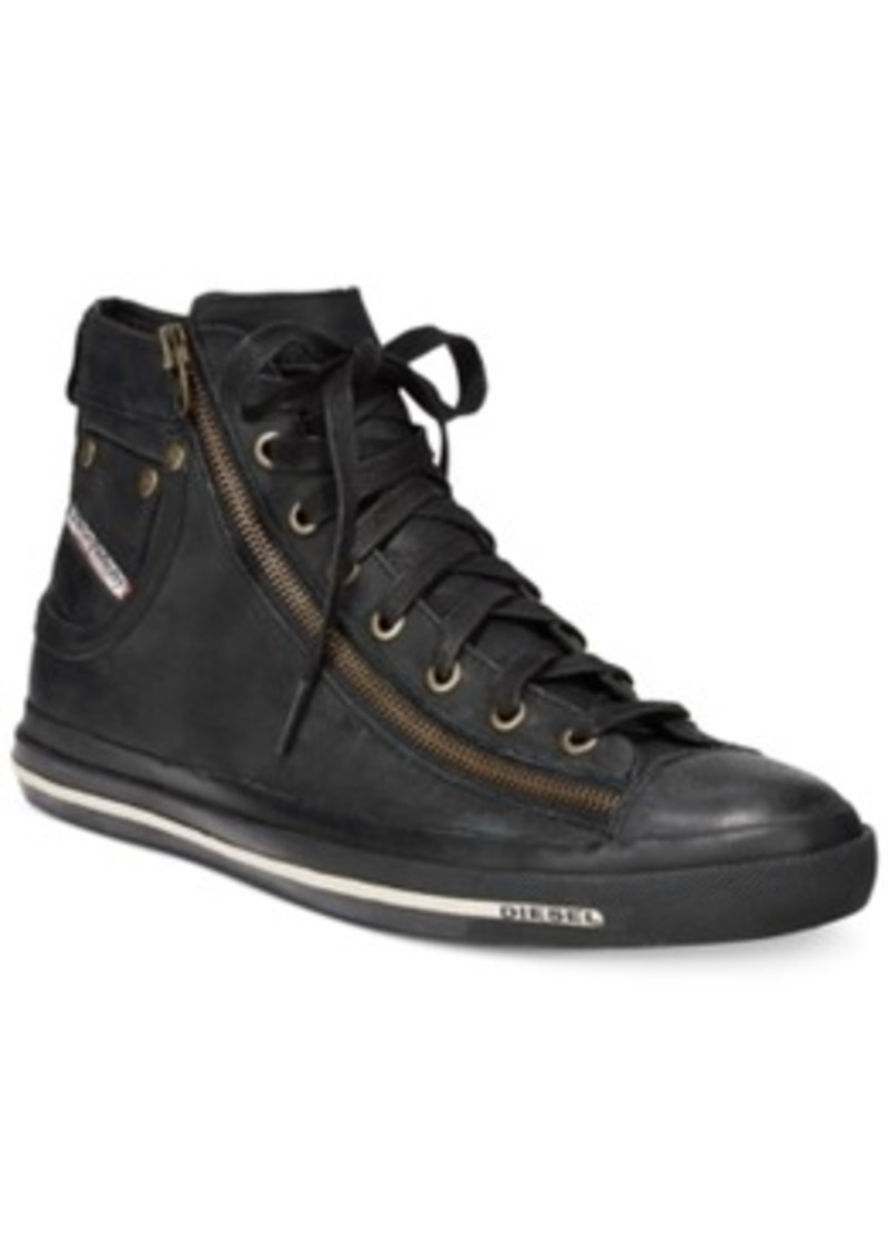 Diesel Diesel Magnete Expo-Zip Hi-Top Sneakers Men's Shoes ...