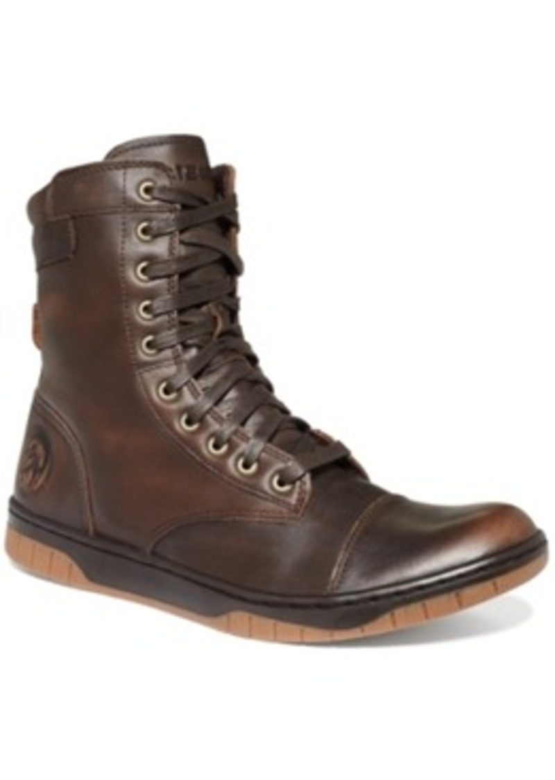 Diesel Diesel Tatradium Basket Butch Zip Boots Men's Shoes ...