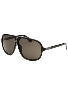 Diesel Women's Aviator Black Sunglasses