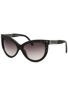 Diesel Women's Claudia Cat Eye Black Sunglasses