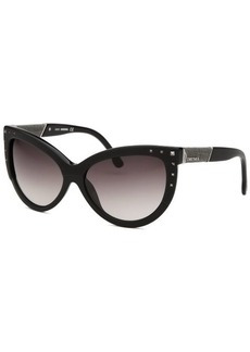 Diesel Women's Claudia Cat Eye Black Sunglasses