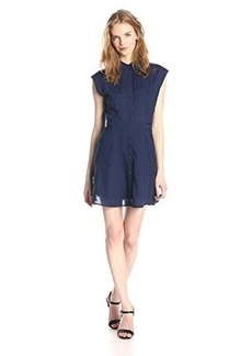 Diesel Women's De-Vette Light Gauze Indigo Dress
