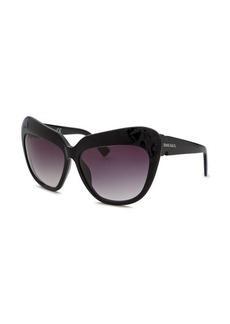 Diesel Women's Fashion Black Sunglasses