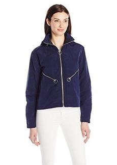Diesel Women's G-Tera Jacket, Navy Blue, Medium