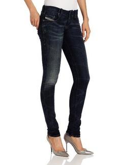 Diesel Women's Grupee-NE Super Skinny Leg Jogg Jean 0601L