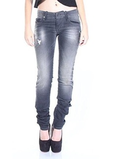 Diesel Women's Grupee-Ne Super Slim Skinny Jean 0835B, Grey, 27x32