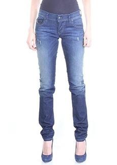 Diesel Women's Grupee Slim Skinny Leg Jean 0837R, Denim, 29