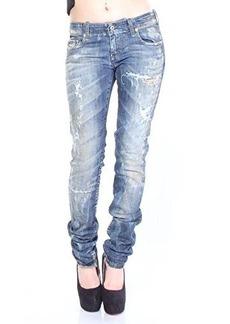 Diesel Women's Grupee Super Skinny Leg Jean 0830K, Denim, 29x32