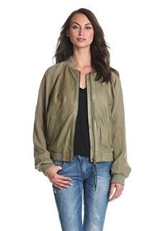 Diesel Women's L-Casol Leather Jacket