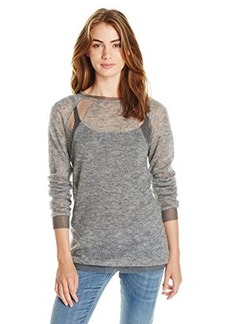 Diesel Women's M-Colt Alpaca Sweater, Dark Grey, Large