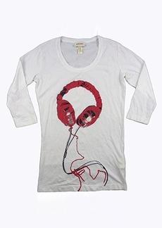 Diesel Womens Tazion T-Shirt, White, Small