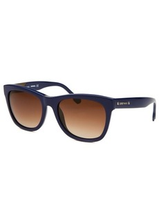 Diesel Women's Wayfarer Blue Sunglasses