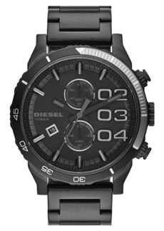 DIESEL® 'Double Down 2.0' Chronograph Bracelet Watch, 48mm