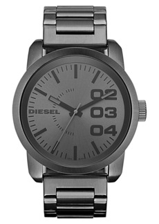DIESEL® 'Double Down' Bracelet Watch, 46mm