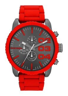 DIESEL® 'Double Down' Large Chronograph Watch, 52mm