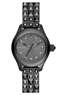 DIESEL® 'Kray Kray' Studded Bracelet Watch, 22mm