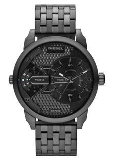 DIESEL® 'Mini Daddy' Multi Movement Bracelet Watch, 46mm