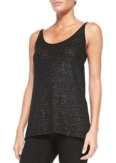 Cashmere Easy Sequined Tank   Cashmere Easy Sequined Tank