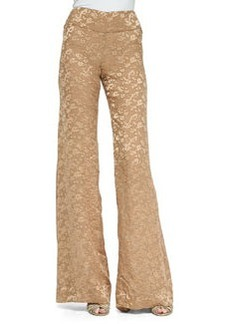 Devore High-Waist Wide-Leg Pants   Devore High-Waist Wide-Leg Pants