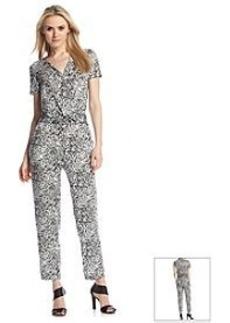 DKNY® Animal Print Jumpsuit