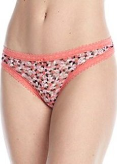 DKNY® Candy Heart Lace Thong