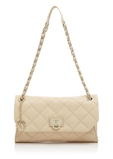 DKNY Clutch - Gansevoort Quilted Envelope Chain Handle