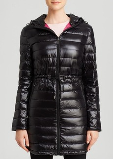DKNY Coat - Cassidy Hooded Quilted