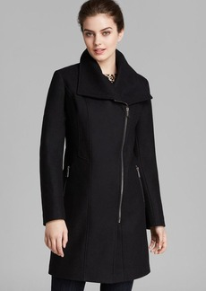 DKNY Coat - Lilah Asymmetric Walker