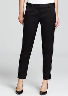DKNY Contrast Piping Slim Pants