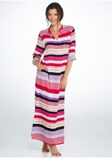 DKNY Cool Woven Maxi Gown