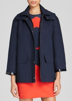 DKNY Detachable Hood Coat