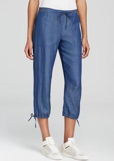 DKNY Drawstring Crop Pants - Bloomingdale's Exclusive