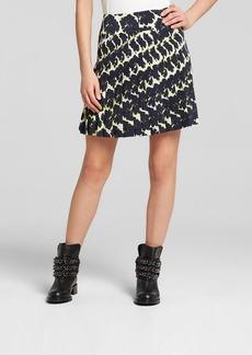 DKNY Floral Print Mini Skirt