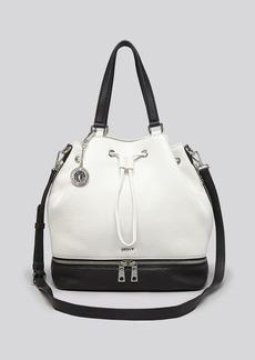 DKNY Hobo - Tribeca Colorblock Drawstring Bucket Bag