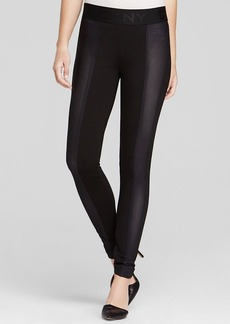DKNY Mesh Trim Leggings