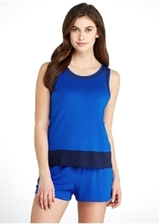 DKNY Modal Tank and Boxer Knit Pajama Set