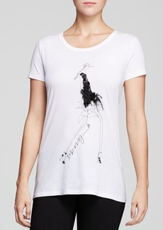 DKNY Party Girl Graphic Tee