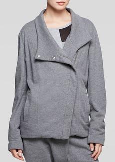 DKNY Pure Asymmetric Cotton Jacket