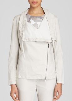 DKNY Pure Asymmetric Zip Front Jacket