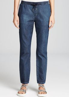 DKNY Pure Denim Drawstring Pants