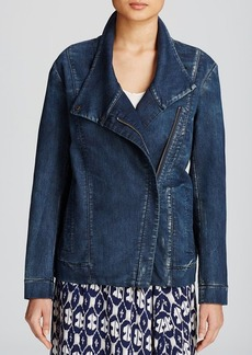 DKNY Pure Denim Moto Jacket