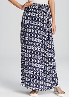 DKNY Pure Ikat Print Maxi Skirt