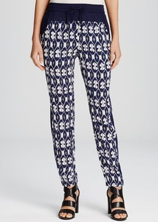 DKNY Pure Printed Slouchy Pants