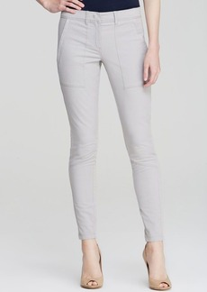 DKNY Pure Skinny Cotton Twill Pants
