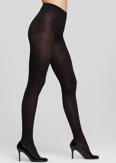 DKNY Quilted Jacquard Tights