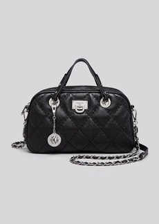 DKNY Satchel - Caviar Quilted Triple Zip