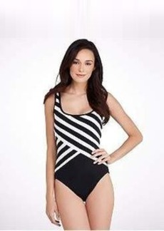 DKNY Scoop Back Wire-Free Swimsuit