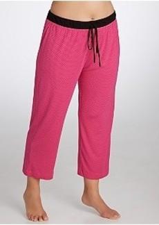 DKNY Seven Easy Pieces Modal Capri Pajama Pants Plus Size