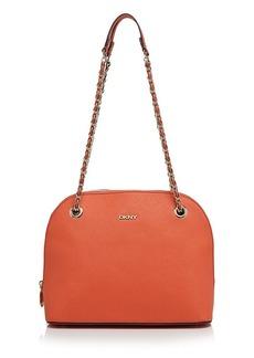 DKNY Shoulder Bag - Medium Round Saffiano